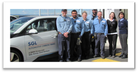 SGL Composite Employees who benefited from the WorkStart Grant.