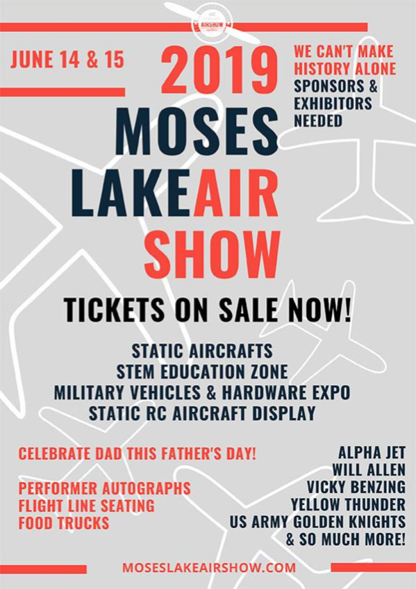 2019 Moses Lake Airshow June 14-15